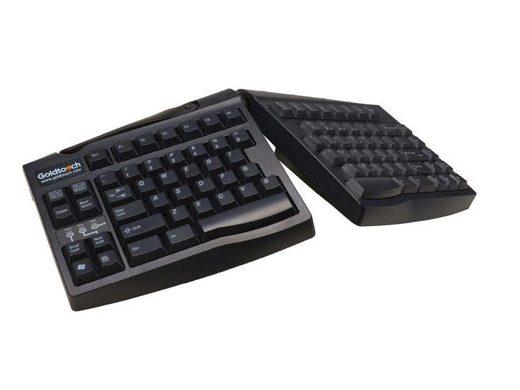 Kinesis Goldtouch Adjustable Keyboard PC ENG BLK #Split-Keyboards