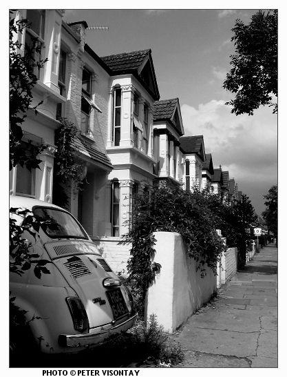 Old Fiat Cinquecento  (London, England)