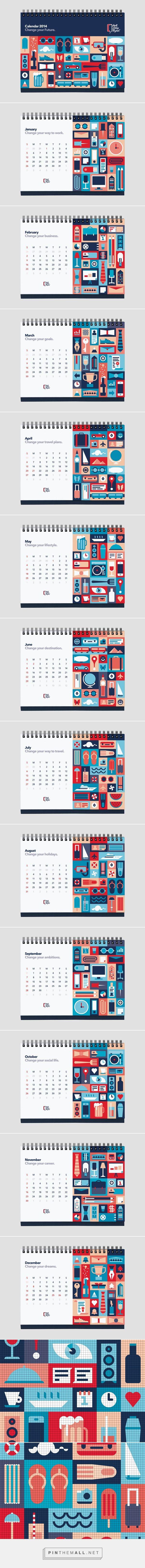 Wall Street English Calendar 2014
