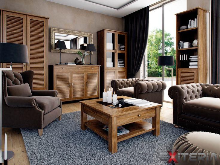 Moderný nábytok do obývacej izby Cintia z lamina