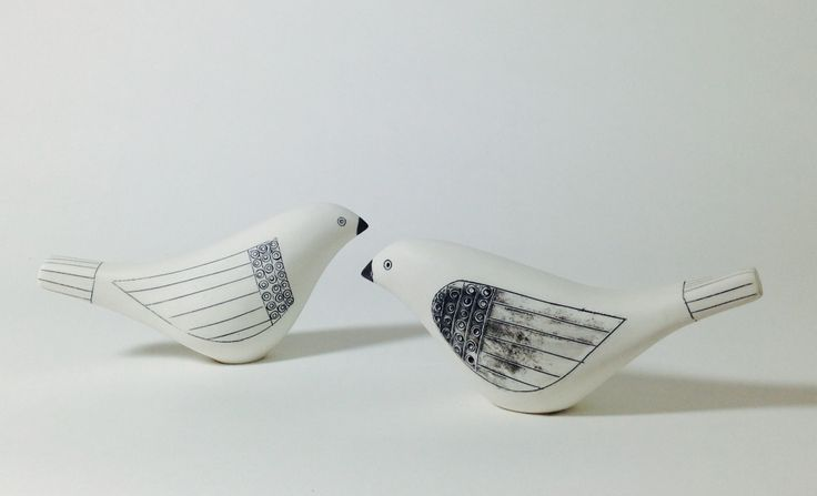 Ceramic Birds - By Michele Hannan