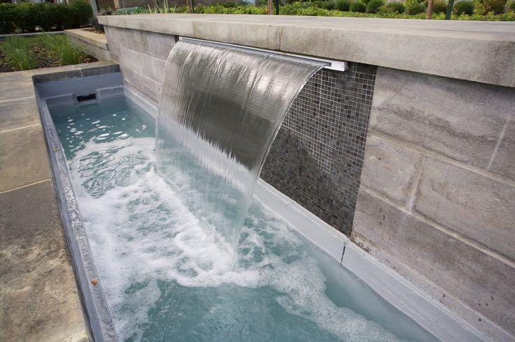 #waterfeater #waterfall #landscaping #homeimprovement