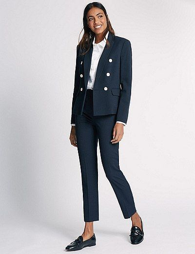 Spotted Jacket & Trousers Set | Marks & Spencer London