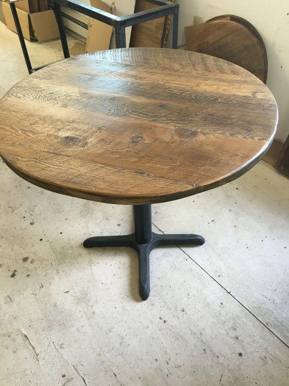 die besten 25+ round wood table ideen auf pinterest | runder, Esstisch ideennn