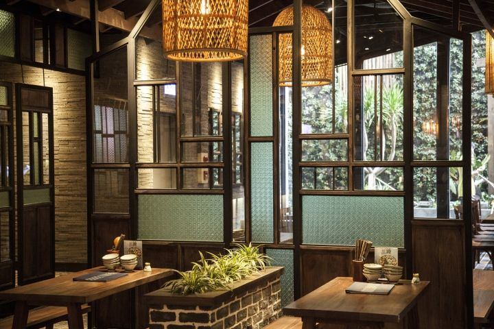 37th Street at Asian Corner restaurant by TD solutions, Ho Chi Minh City – Vietnam » Retail Design Blog