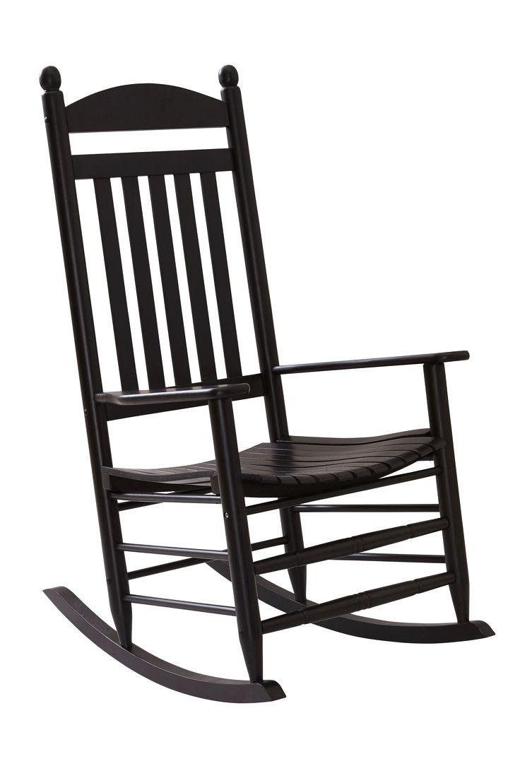 Luta dig tillbaka och slappna av i denna klassiskt designade gungstol. Placera den i ditt favorithörn i hemmet och unna dig en lugn stund för dig själv. Material: Trä. Storlek: Höjd 120 cm, bredd 67 cm, djup 87 cm, sitthöjd 45 cm. Beskrivning: Gungstol med armstöd av massivt lackat trä. Skötselråd: Torkas med fuktig trasa. Tips/råd: För mjukare komfort matcha stolen med en sittdyna eller pläd. Vi har många att välja mellan.