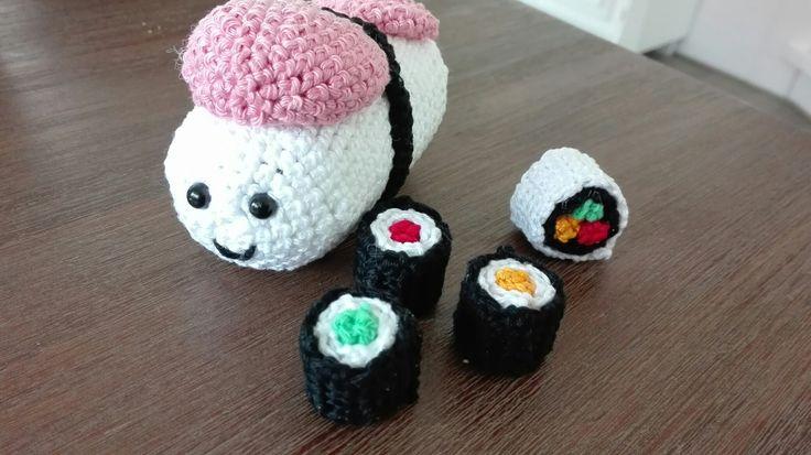 Gehaakte Sushi