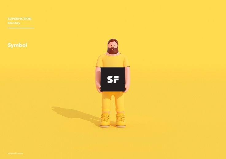 SUPERFICTION Identity Design on Behance