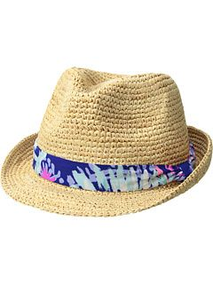 Lilly Pulitzer Poolside Hat Fedora Hats  e14d2be2524