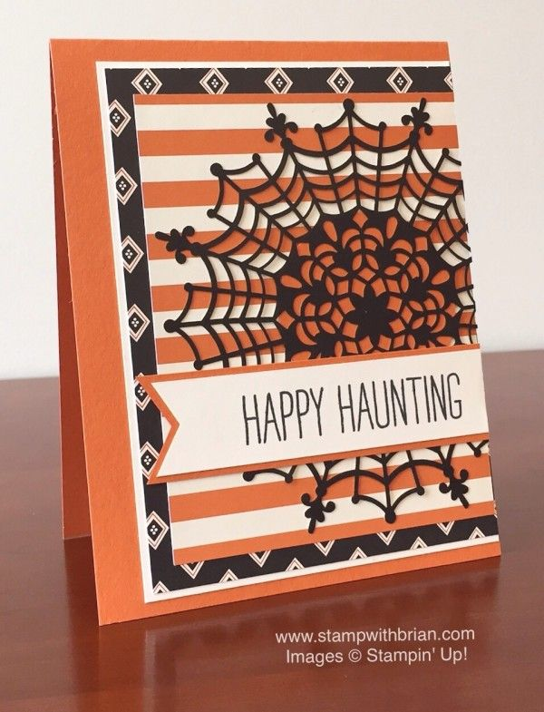 Cheer All Year, Happy Haunting Designer Series Paper, Stampin' Up!, Brian King, FabFri70:
