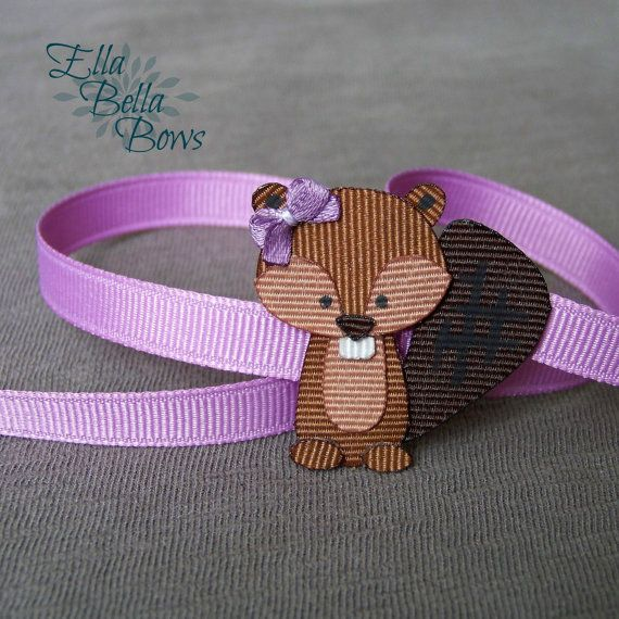 Hey, I found this really awesome Etsy listing at https://www.etsy.com/listing/223755932/woodland-beaver-ribbon-sculpture-hair