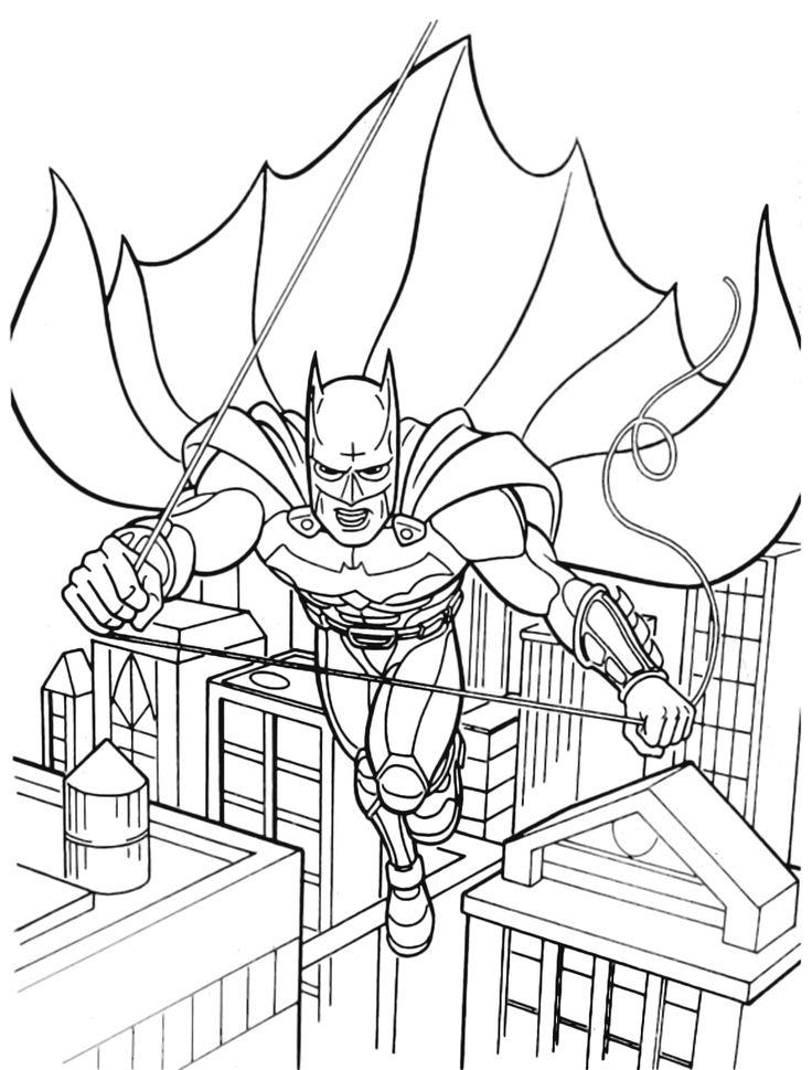 Batman Per Gotham City Kristoonaltervista Kristoon