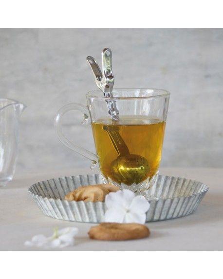 CLIP Teino Una cli per infondere il tuo tè a misura di tazza, teino è una clip grande come un cucchiaino, comoda! #clip #kitchenaccessories #food