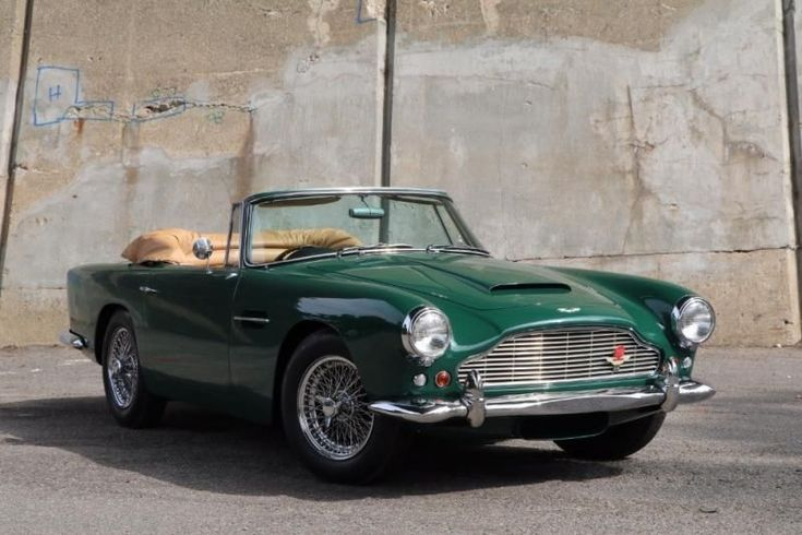 1962 Aston Martin DB4C Convertible Series IV SS Vantage with Factory Overdrive #… – Classic Car News And Images