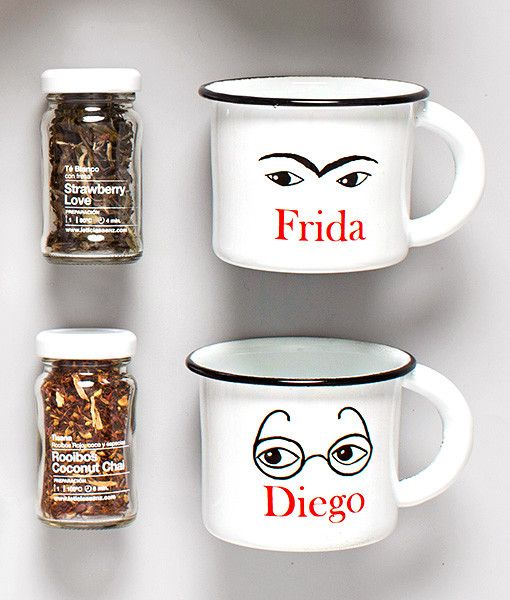 Unelefante's Frida & Diego Coffee, tea and chocolate