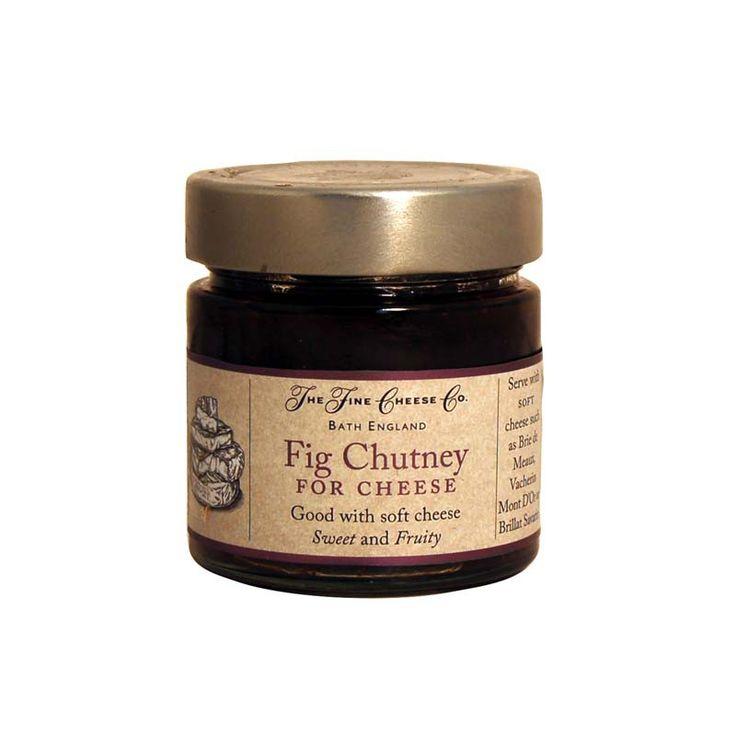 El chutney de higos es un chutney dulce y afrutado ideal para maridar con quesos cremosos.  #salsasgourmet
