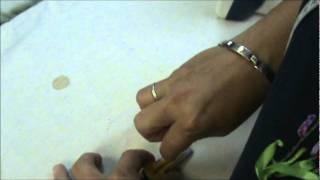 Elizabeth De Abreu - Como hacer Sesgo (Parte 2), via YouTube.