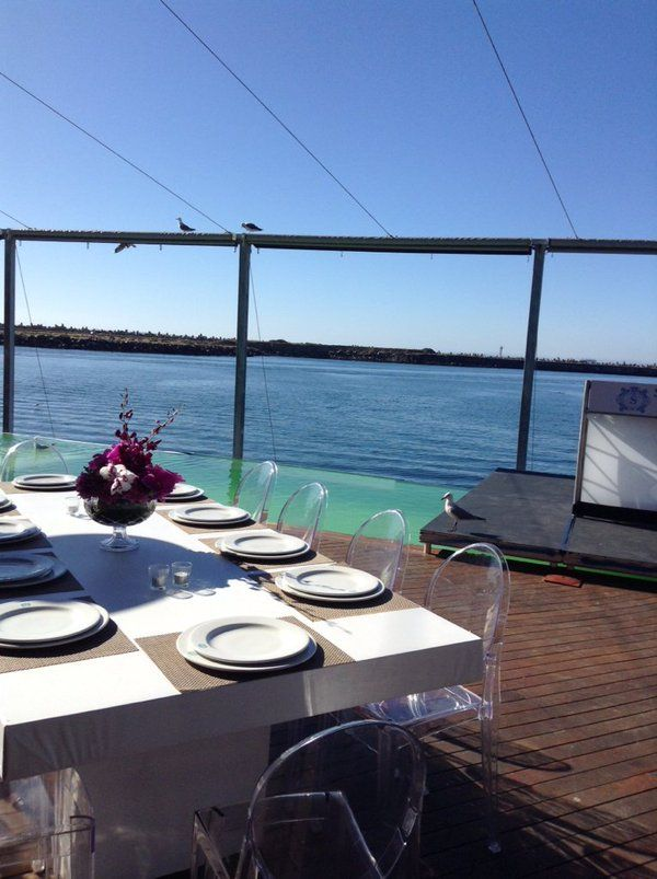 Corporate function on the pool Deck at Shimmy Beach Club. Spectacular views of the ocean and harbour