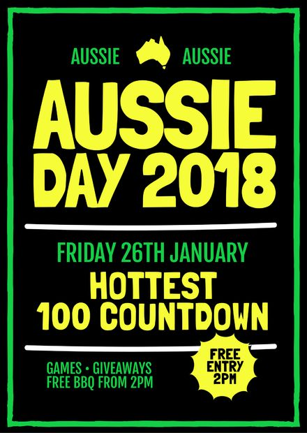 Australian Day Templates, DIY Design, Australia Day Posters and Flyers - Aussie Day 2018
