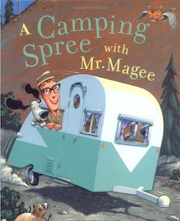 The Picture Book Teacher's Edition: A Camping Spree with Mr. Magee by Chris Van Dusen   A good book to help teach inferencing and cause and effect.