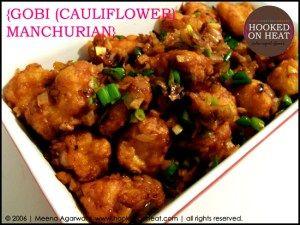Recipe for Gobi Manchurian taken from www.hookedonheat.com.