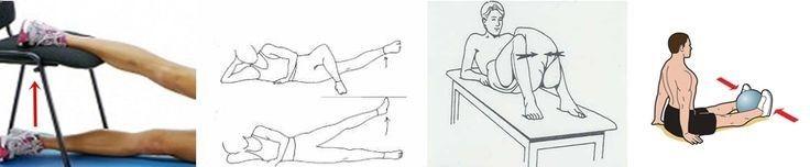 Explorestretches Hip Flexors:Hip Flexor Strain Exercises: Illustration #Exploreworkouts #Hip #Flexor