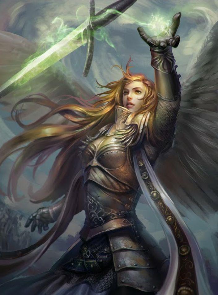 Beautiful female warrior ♡