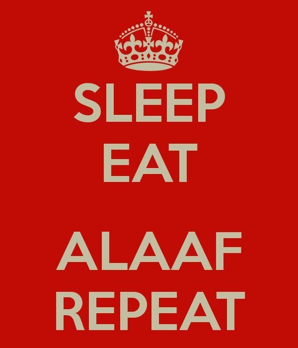 Sleep eat alaaf repeat