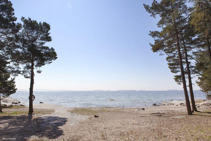 Stranden vid Björkvik