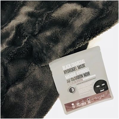 Soo'AE: Black Charcoal Hydrogel Sheet Mask review
