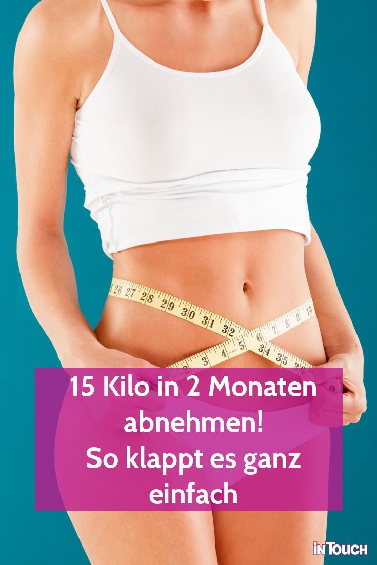 Diät, um 30 Kilo in einem Jahr zu verlieren
