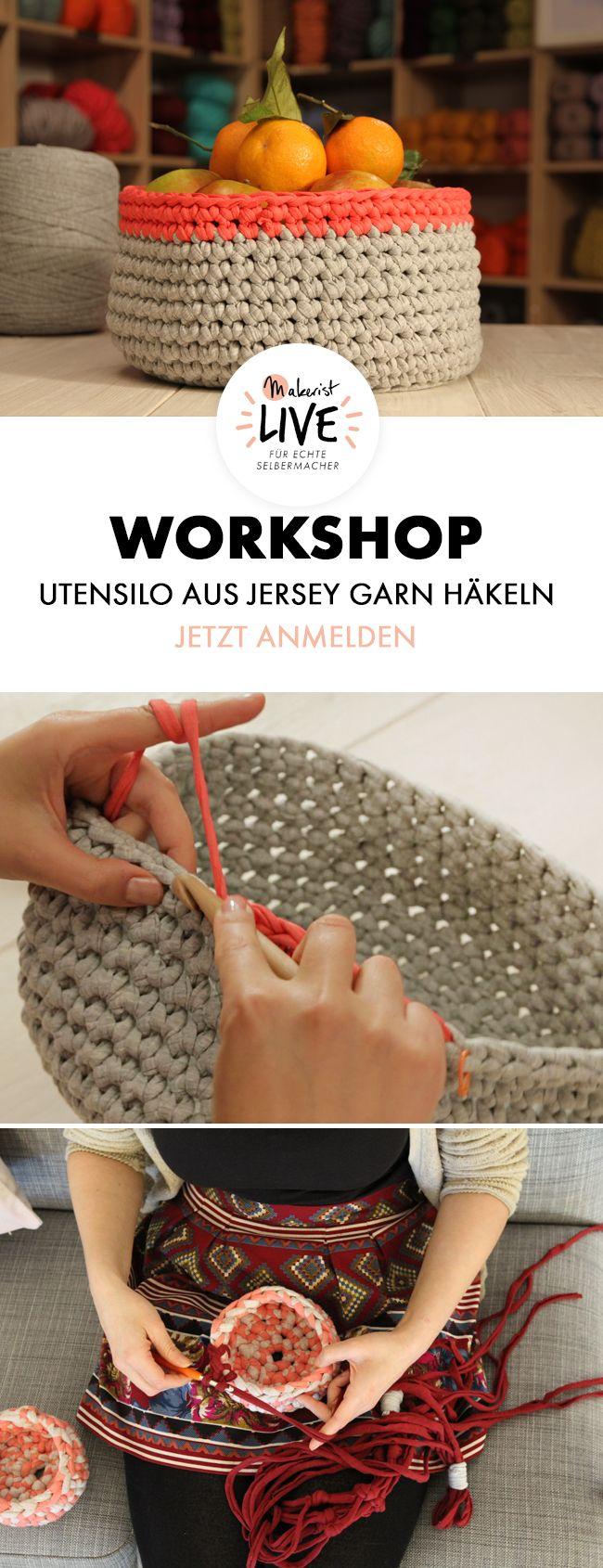 Utensilo Häkel-Workshop zur Makerist LIVE in Berlin im Mai 2017 - Jetzt buchen via Makerist.de
