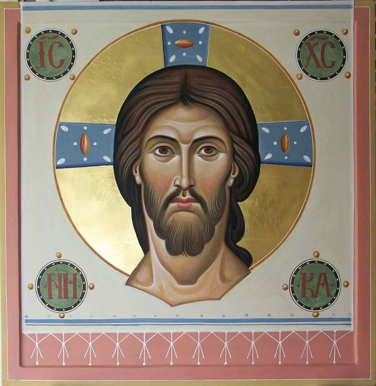 .Mandilion- Including the neck on a Mandylion looks strange. The bars of the cross in the halo are too narrow. I like the NI KA!
