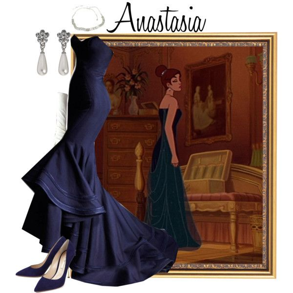 """Anastasia"" by merahzinnia on Polyvore......i would never fit into this but it looks just to darn awesome not to pin!"