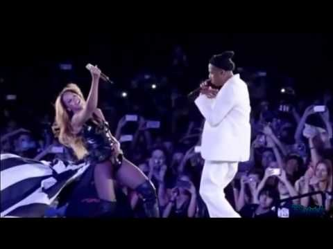 """Beyonce And Jay Z """"Forever Young"""" """"Halo""""Paris Stade de France On The Run Tour【HD】. - YouTube"""