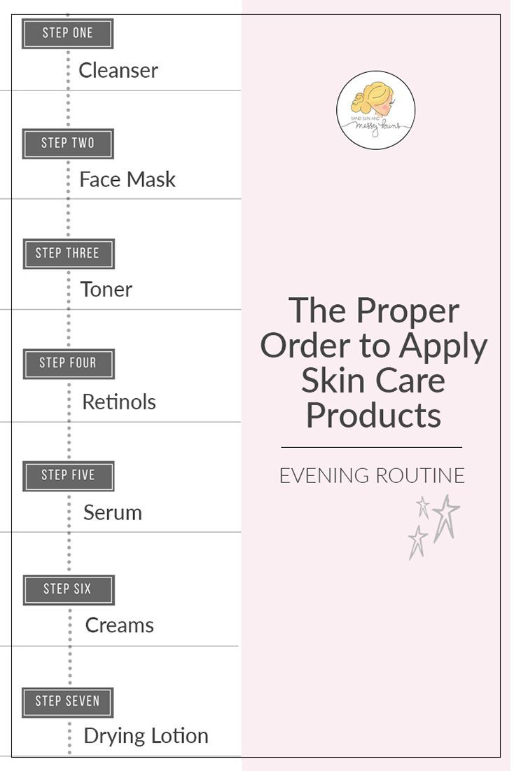 What S The Best Order To Apply Skin Care Products Sand Sun Messy Buns Skin Care Skin Care Tips Skin Care Routine