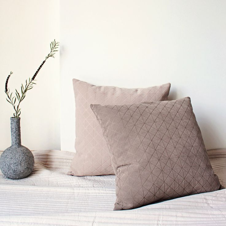 Pastel Geometric Pillow, Patterned Pillow, Textured Cushion, Scandinavian Grid Pillow, Neutral Cushion Cover, Minimal Throw, Modern Pillow by Nirwa on Etsy https://www.etsy.com/listing/267251545/pastel-geometric-pillow-patterned-pillow
