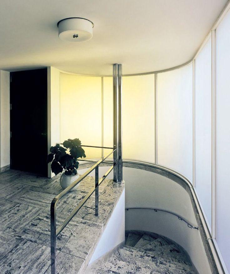 Mies van der Rohe, Villa Tugendhat, Brno, Czech Republic | staircase architecture