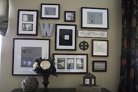Collage Wall: Decor Ideas, Living Rooms, Photo Walls, Gallery Walls, Galleries Wall, Collage Wall, Frames Wall, Pictures Wall, Wall Ideas