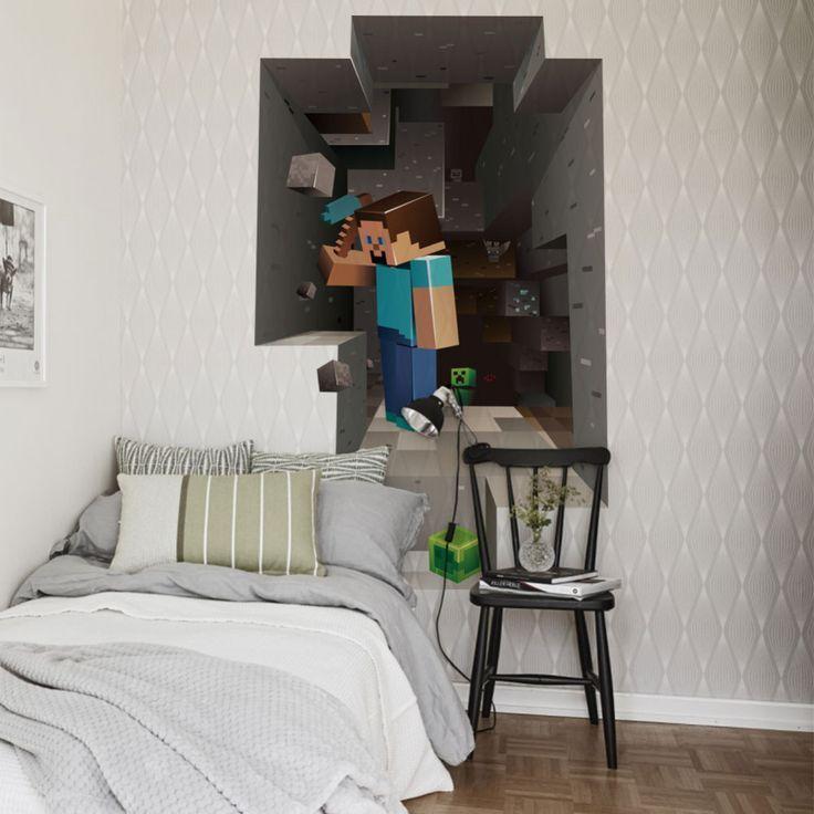 Children Cartoon DIY Wallpaper For Kids Rooms Sofa Bedroom Living room decoration Art Decals Vinyl 3D Wall Stickers