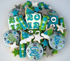 Image result for new years eve cookies
