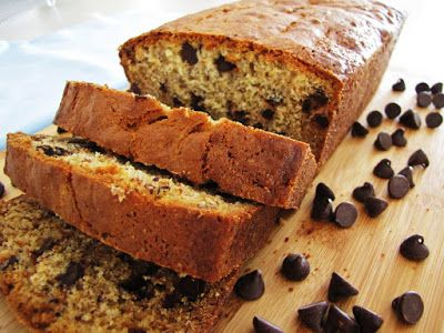 Slimming recipe: Banana and Chocolate Chip Loaf