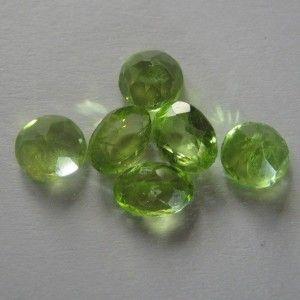 Set 6 Pcs Peridot 5.20 carat