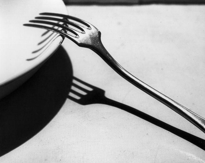 Fork by André Kertész • 1928 • As part of the Bruce Silverstein Gallery — Estate of André Kertész (1925-1930: Paris)
