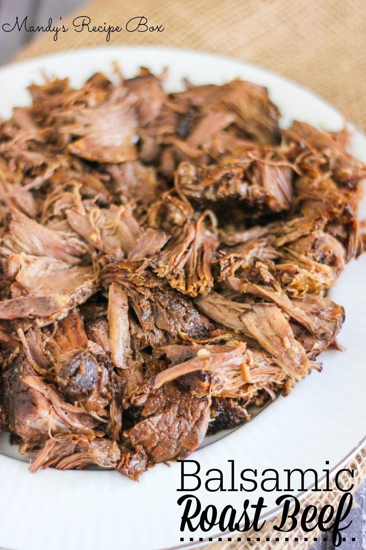 Crock Pot Balsamic Roast Beef -- would work great with a rump roast for Phase 2 or Phase 3! Leave out the Worcestershire and sub tamari for the soy sauce.