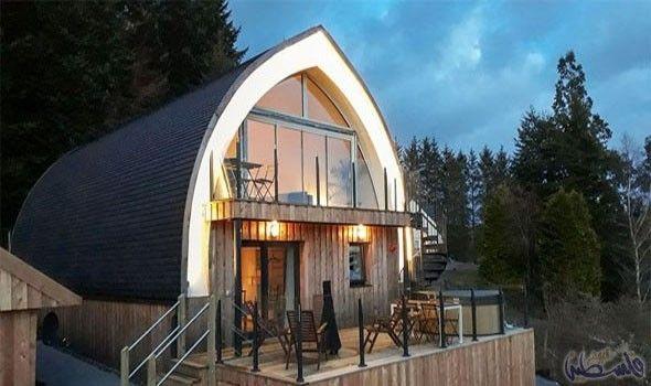 بيت مصنوع من القش في اسكتلندا مثالي للعطلات العائلية Straw Bale House House Straw Bale Construction