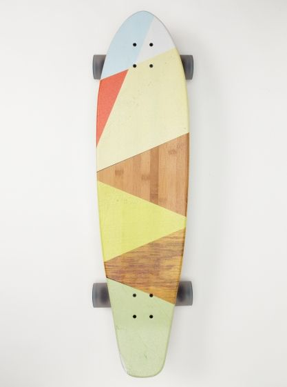 Skateboards, Pattern, Style, Block Parties, Pastel Colors, Skating, Longboards, Design, Long Boards