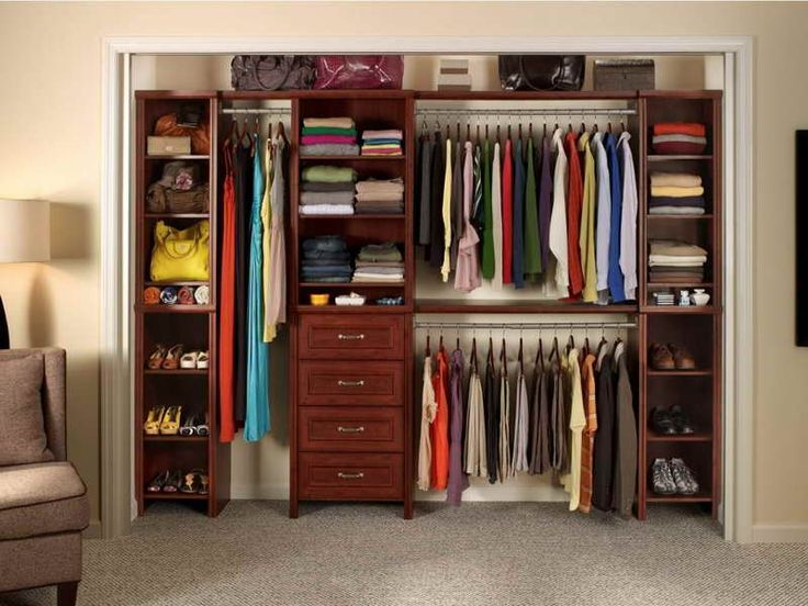 17 best images about closet on pinterest walk in closet the closet and home depot - Bedroom wall closet designs ...