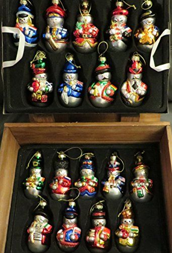 Thomas Pacconi Snowmen From Around the World Ornaments ...