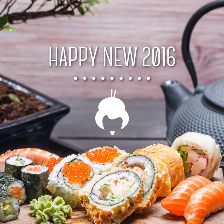 Nel nuovo anno tu sei una certezza #sushi!!  #BuonAnno